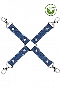 Denim - Hogtie - Roughend Denim Style - Blue