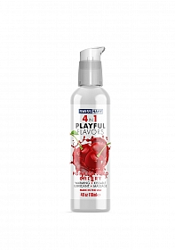 Playful 4 in 1 Lubricant with Poppin Wild Cherry Flavor - 118ml