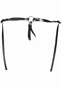 Bare As You Dare Strap On - Black