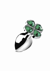 Lucky Clover Gem - Large - Silver