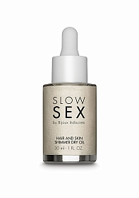 Slow Sex - Hair and Skin Shimmer Dry Oil - 30ml