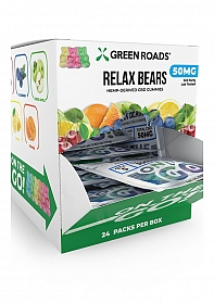 On the Go Relax Bears - 50 MG - Display 24 pieces