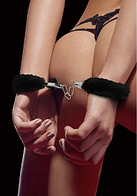 Beginner's Handcuffs Furry - Black